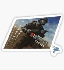 Airborne Forces Sticker