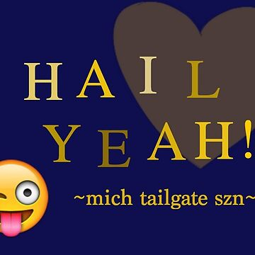 Michigan Tailgate Design by sarjord
