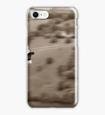 The Chase - Sepia iPhone Case/Skin