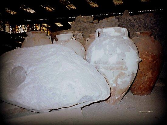 Excavations at Akrotiri by Charmiene Maxwell-Batten