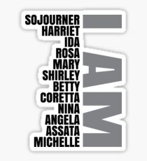 Black Women Heros | African American | Black Lives Sticker