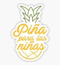 Piña para las niñas Sticker