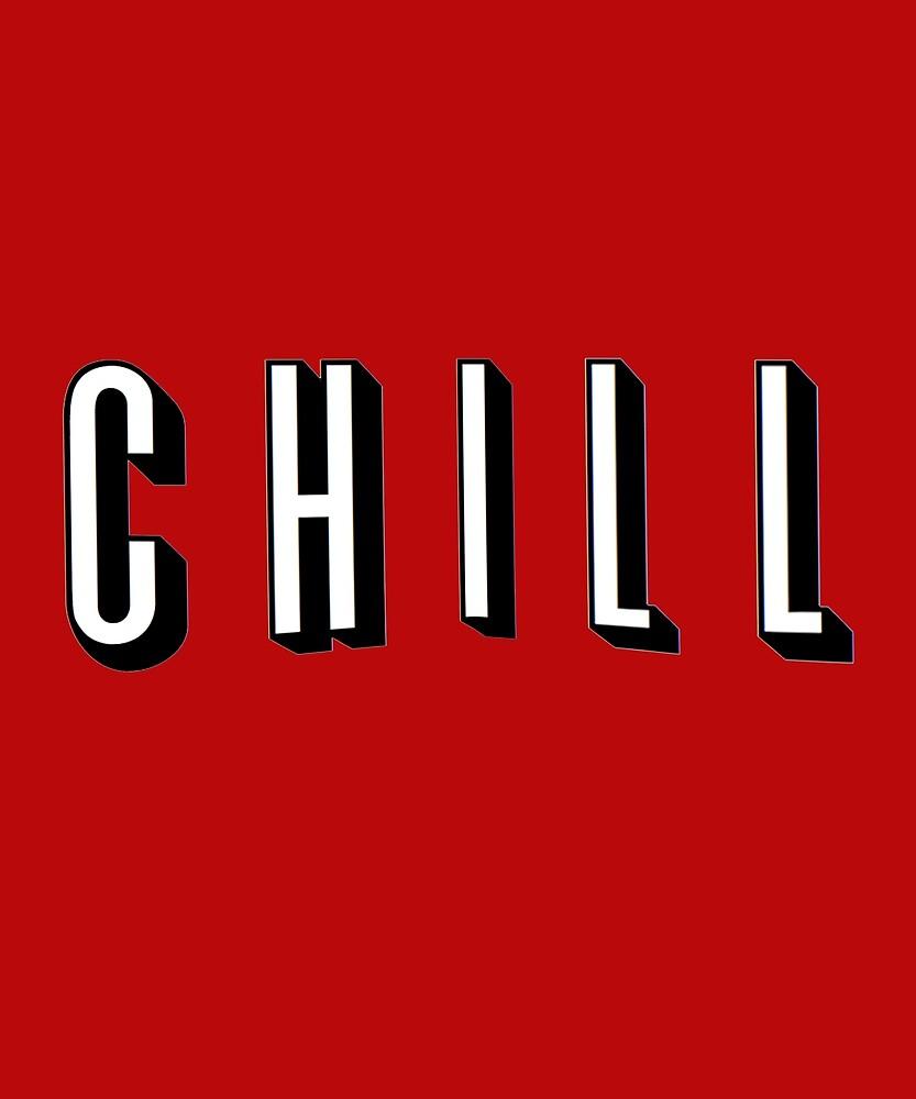 Netflix & Chill by Ala Byrne