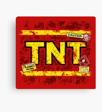N.Sane TNT Canvas Print