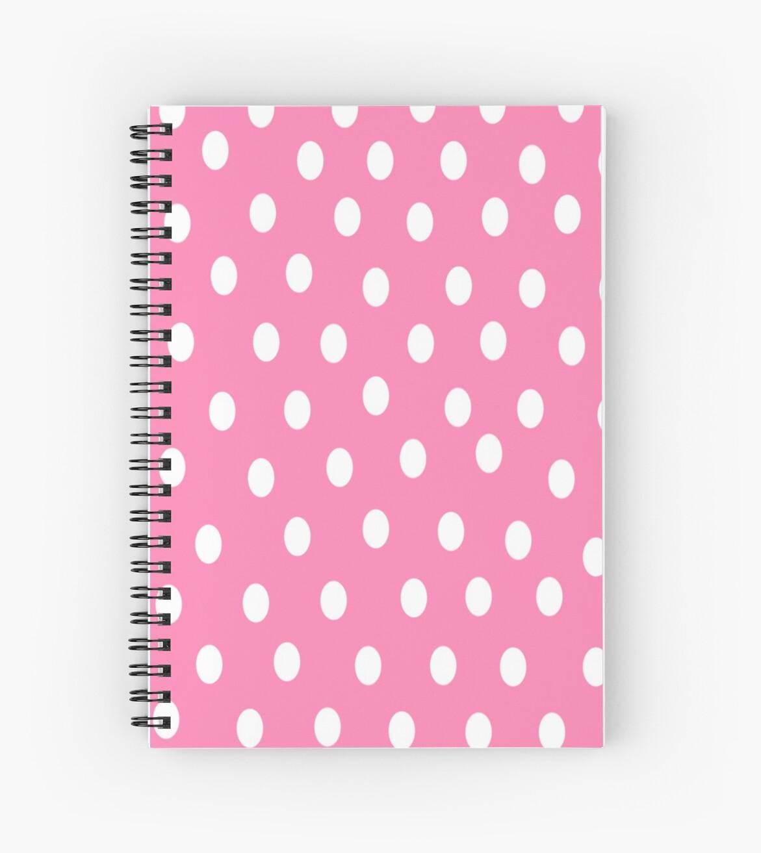 Pink Poka Dots by Xinoni