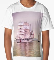Tall Ships in Boston -USCG Long T-Shirt