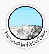 A GRAND Canyon sketch Sticker