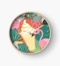 Minimalist Dole Whip Clock