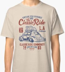 The Classic Ride - 1983 VW - Low And Slow Classic T-Shirt