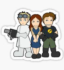 Phd. In Cuteness Sticker