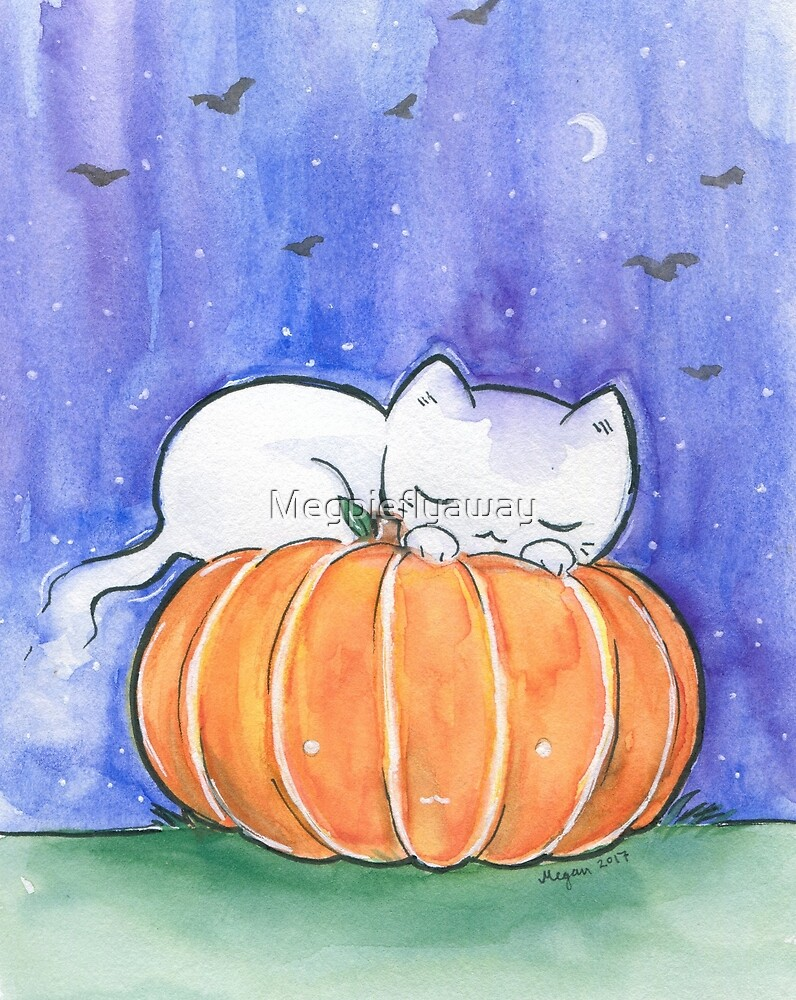 Ghost Naps by Megpieflyaway