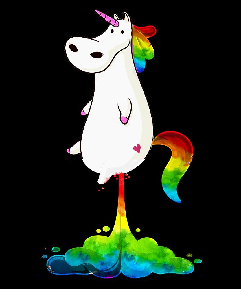 Cute Unicorns Rainbow Gay Pride LGBT T Shirt by sondinh