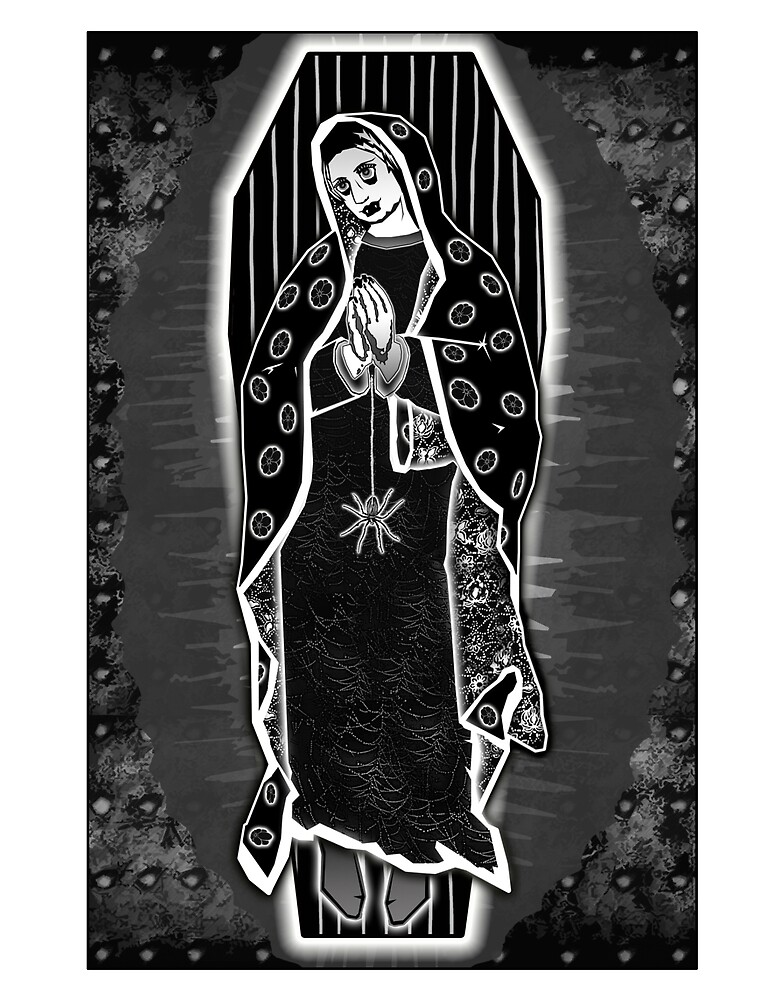 Morticia Guadalupe by djzombie