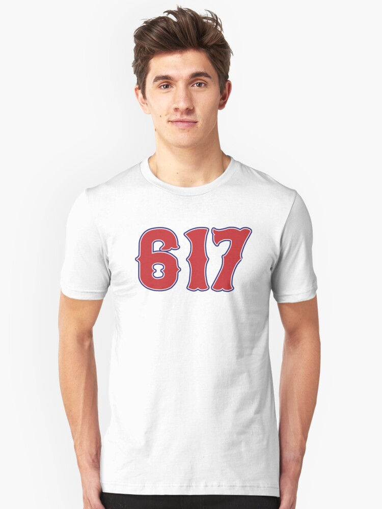 617 Boston Strong Unisex T-Shirt Front