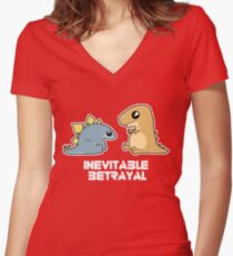Inevitable Betrayal  Women's Fitted V-Neck T-Shirt