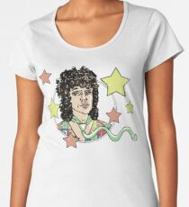 Vintage Russell Mael of Sparks is Distressed Women's Premium T-Shirt
