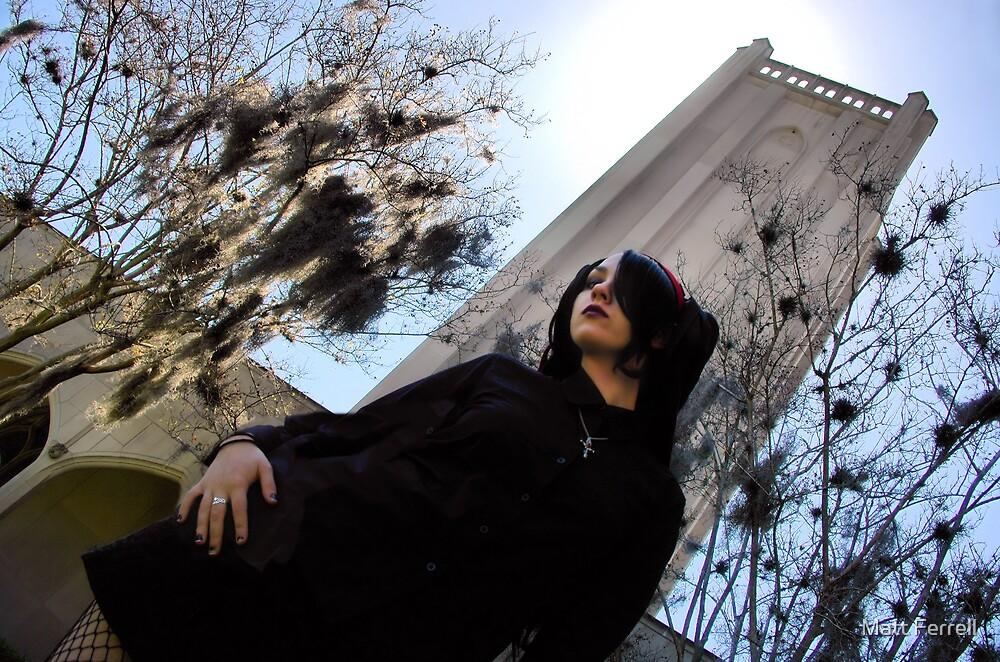 Austin at Evergreen Cemetery by Matt Ferrell