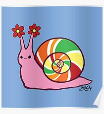 Sweetie Candie Snail Poster