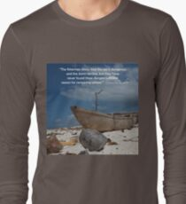 The Fisherman and the Sea Long Sleeve T-Shirt
