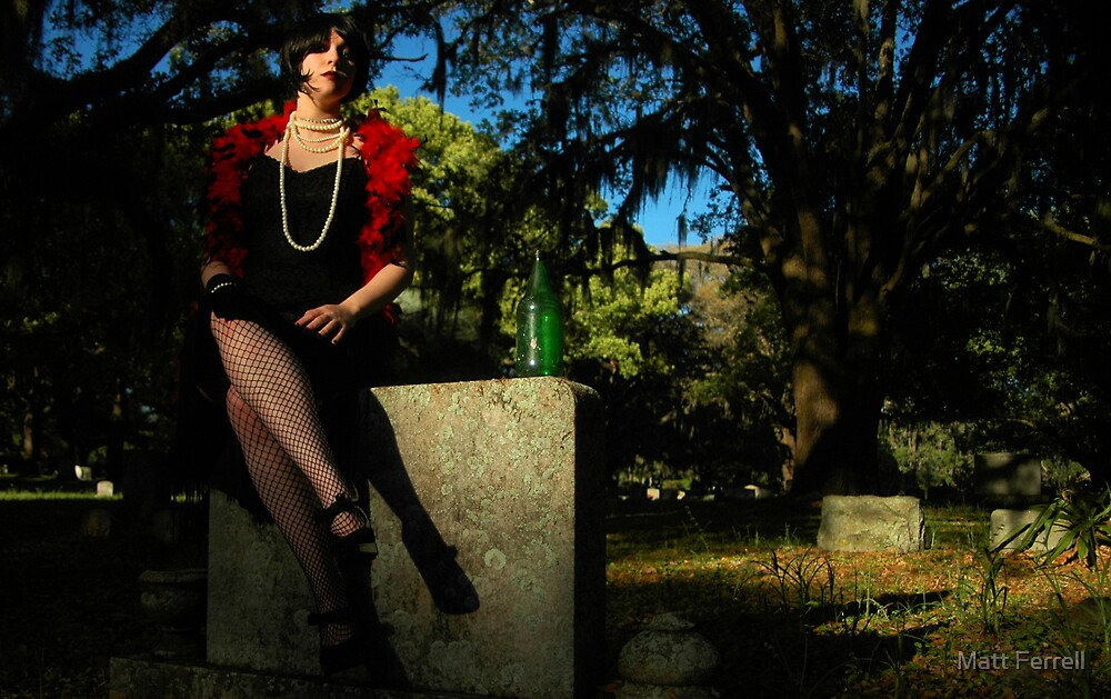 Austin at Evergreen Cemetery by Matt Ferrell