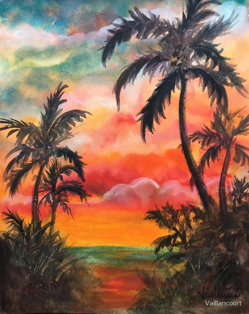 Sayulita Sunset by Vaillancourt
