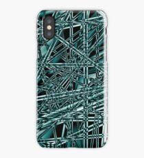 Black Digital 001 iPhone Case/Skin