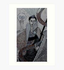 Dragon Age Inquisition - The Magician Art Print