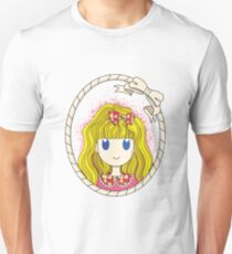 Little Girl with Ribbon Unisex T-Shirt