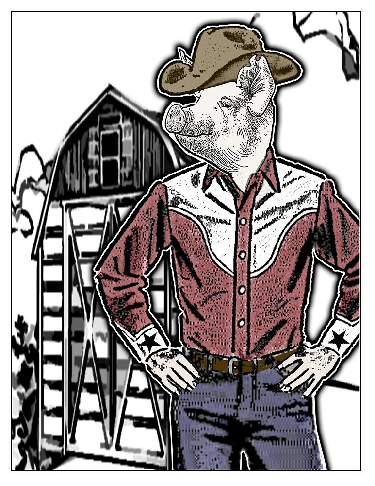 Pig Town by djzombie