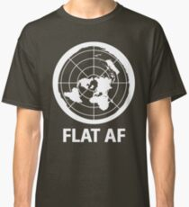 Flat AF Flat Earth Society  Classic T-Shirt