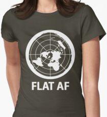 Flat AF Flat Earth Society  T-Shirt