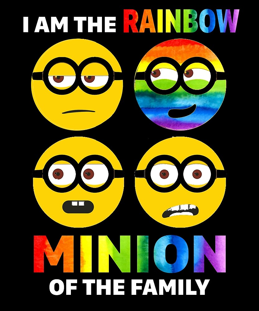 I Am The Rainbow Mini Of The Family T Shirt Gay LGBT Tee by sondinh
