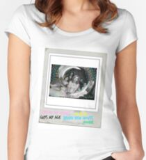 Hey violet 1 Women's Fitted Scoop T-Shirt