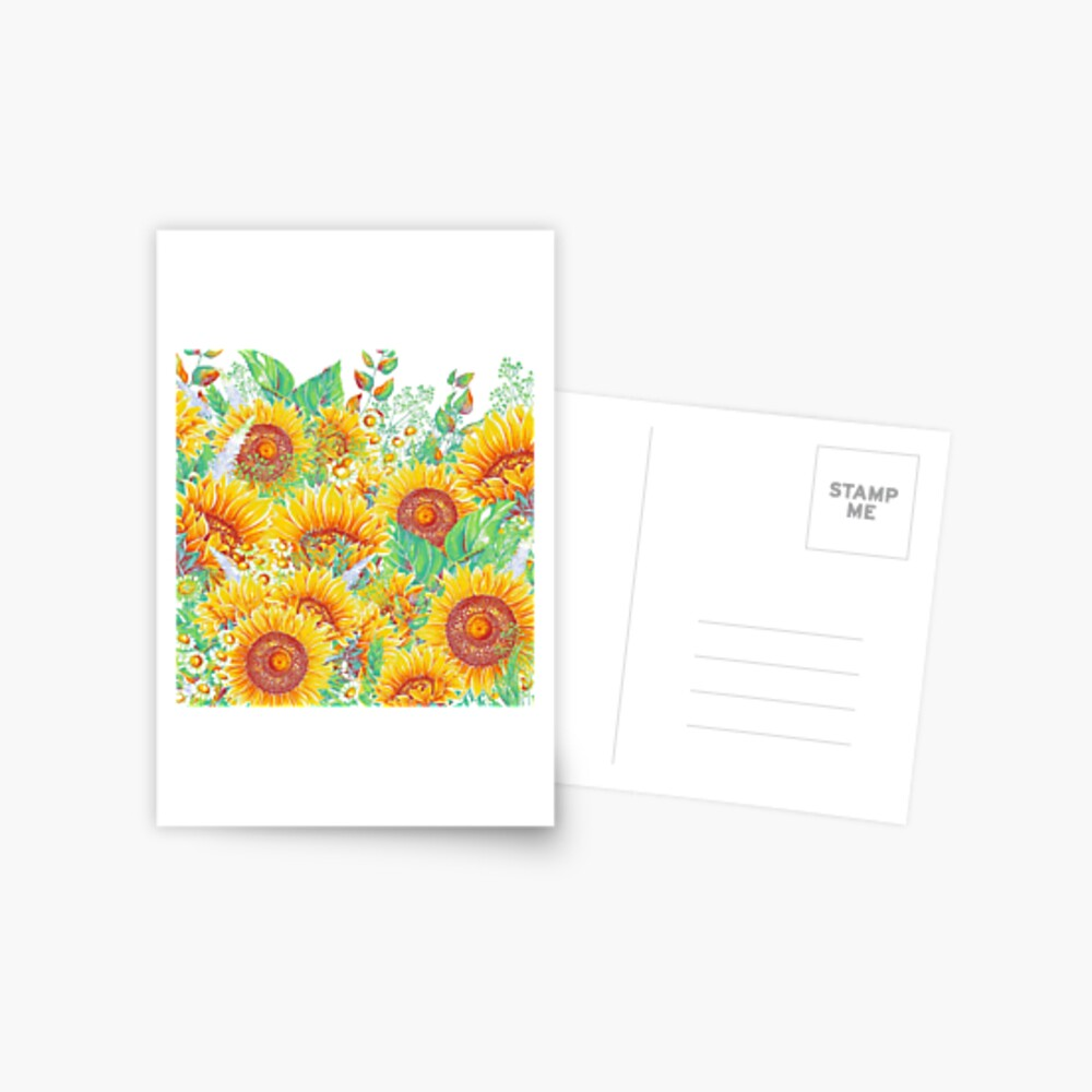 Jardín de verano 4 Postal