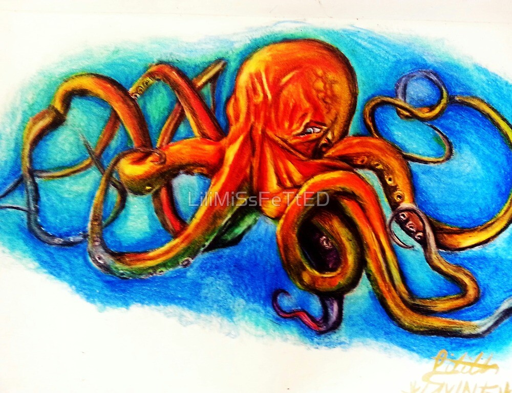 Face Your Fears: Octopus by LiliMiSsFeTtED