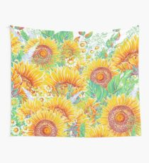 Summer Garden 4 Wall Tapestry