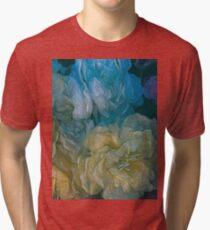 Vintage Still Life Bouquet Tri-blend T-Shirt