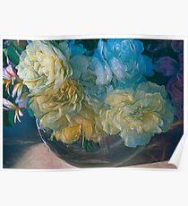 Vintage Still Life Bouquet Poster
