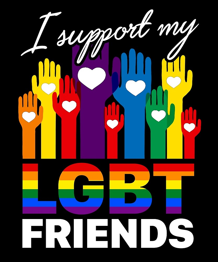 I Support My LGBT Friends Loyalty T Shirt by sondinh