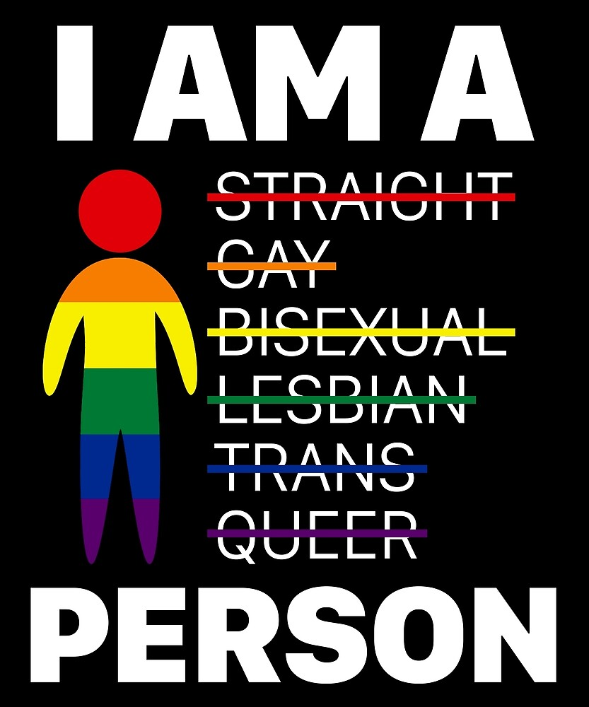 I Am A Person T Shirt LGBT Pride Month 2017 Gift by sondinh