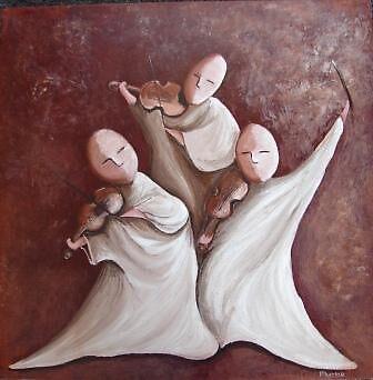 Fiddlers Three by lynzart