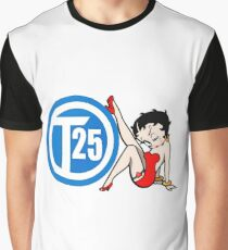 Vw T25 Betty Boop Graphic T-Shirt