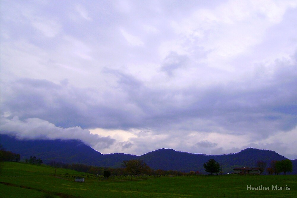 Smokey Mountain Countryside by Heather Morris