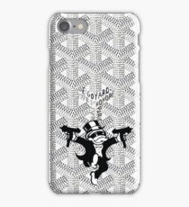 Black White Monopoly iPhone Case/Skin