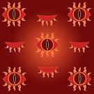 Eye of Fire- Pattern by KitsuneDesigns