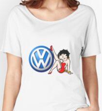 Betty Boop VW Logo Women's Relaxed Fit T-Shirt