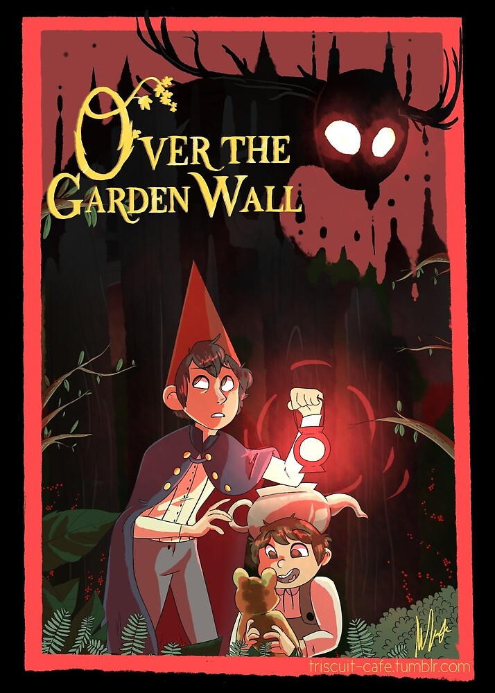 Over the Garden Wall by Tris Cafe