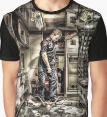 Ambulance Disaster Graphic T-Shirt