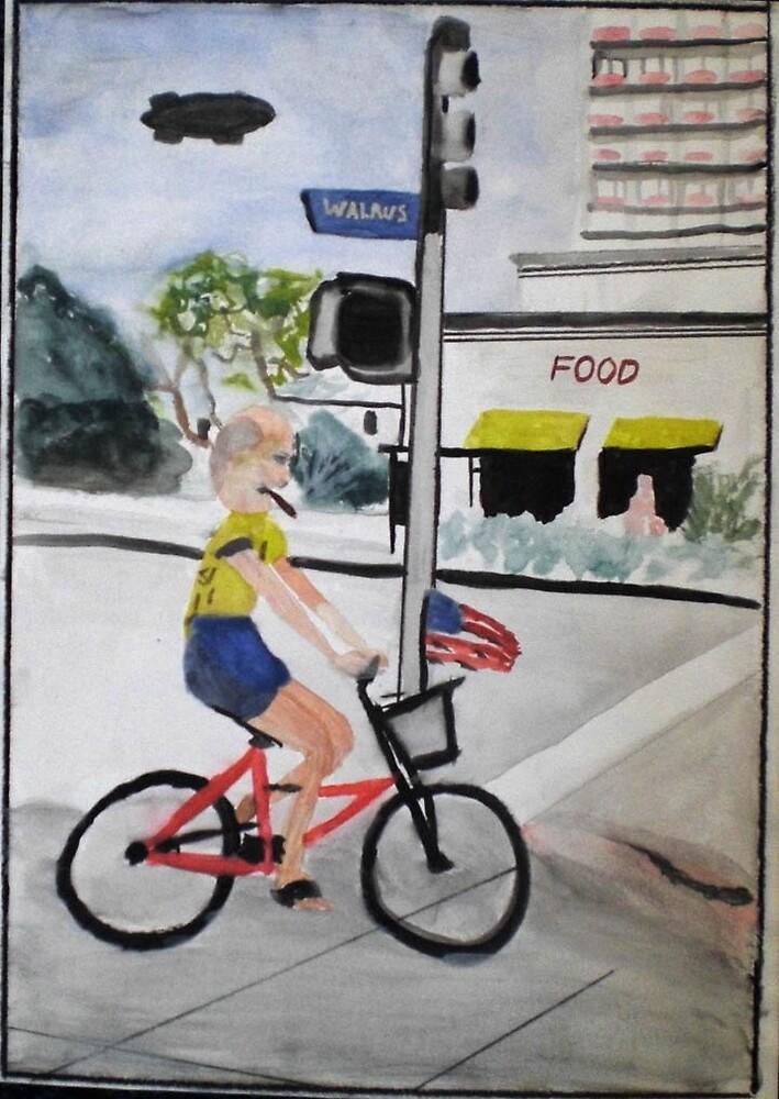 Old Bike Ride by jeffmora