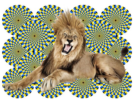 Roar Leo optical ilusion by mensijazavcevic